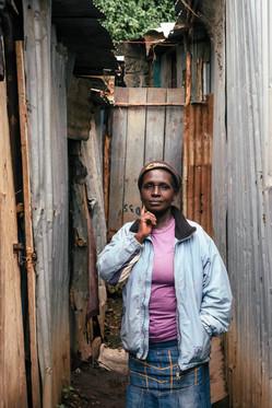 Grandmother in Mathere, Kenya