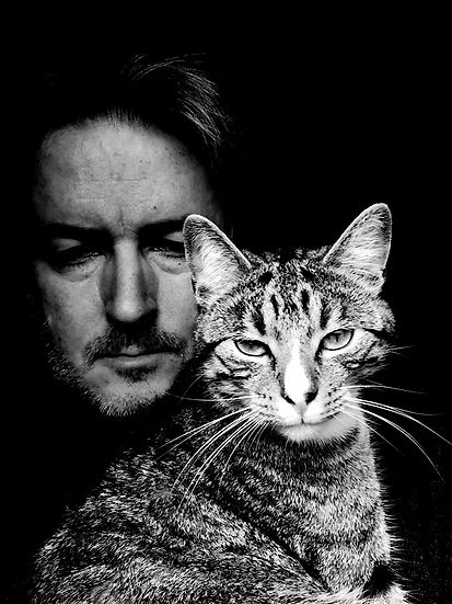 Jampondphotography's Marcus Jamieson-Pond and Django the kitten