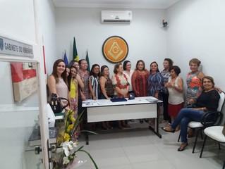 Homenagemà Presidente da Liga Feminina