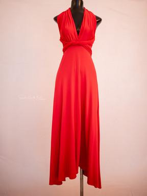 Veronica. Red. Adjustable top.