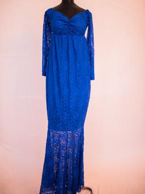 Jamala. Royal Blue. Lace.