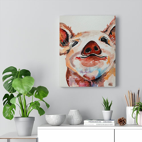 Canvas Gallery Wraps,  Lil Pig!