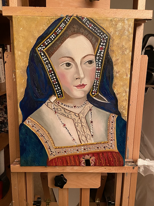 Her Majesty Oil on Canvas