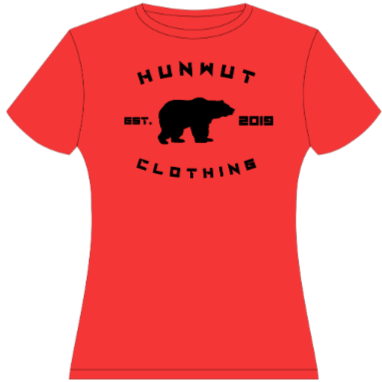 Bear Center Design Hunwut Clothing Est. 2019