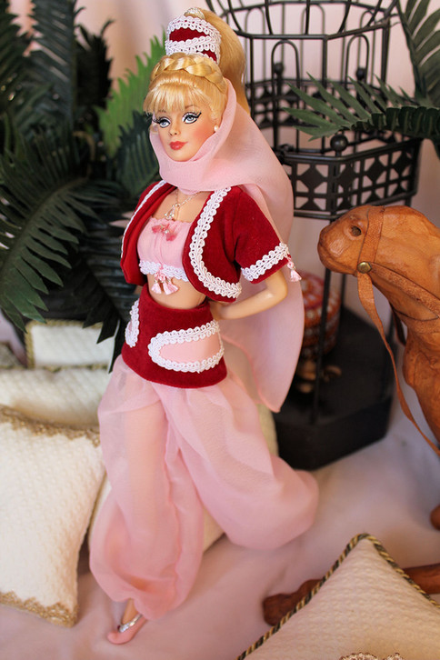 This is the doll I gave to Barbara Eden