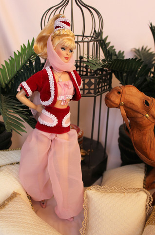 This doll was given to Barbara Eden