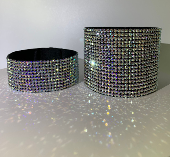 Aurora Borealis Crystal Arm Bands