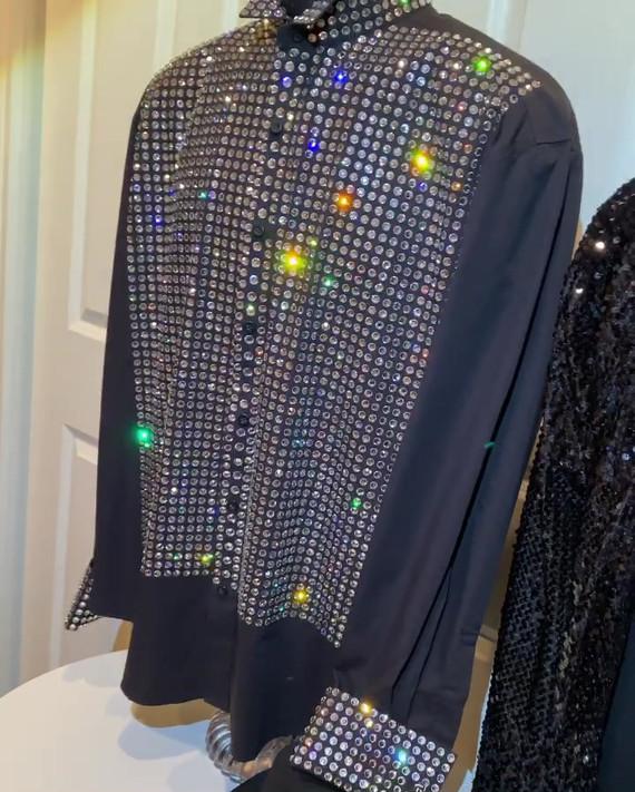 Motown 25 Shirt and Billie Jean Jacket