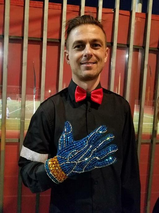 Blue Fantasy Glove Customer Photo