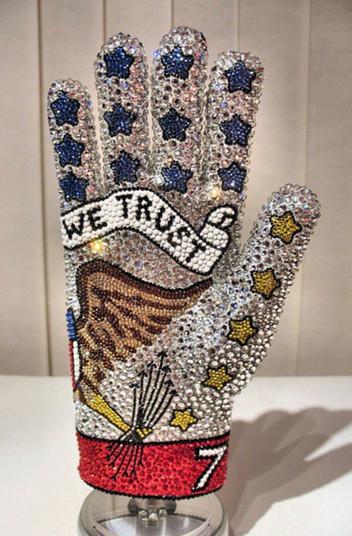 United We Stand Glove Back