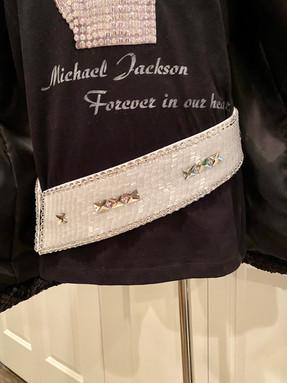 Michael Jackson Victory Tour Belt