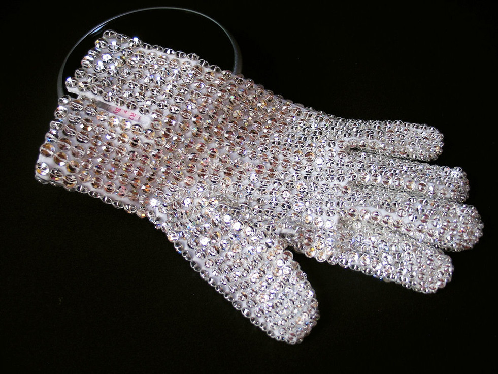 Victory Tour Glove Back