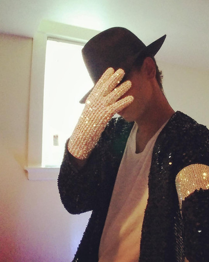 Billie Jean History Tour Jacket and Glove