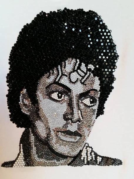 Michael Jackson Thriller in Swarovski Crystals