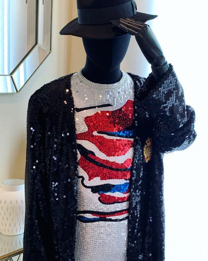 Billie Jean Jacket and Shirt