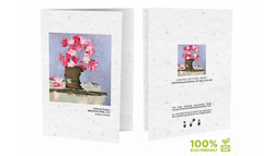 Plant-able, limited edition postcards