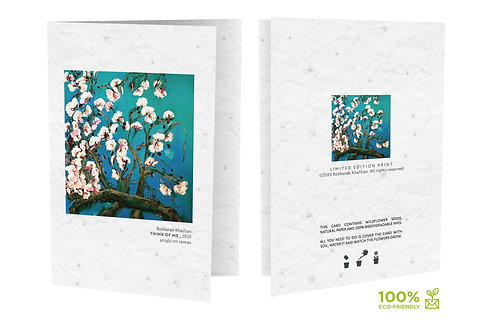 Plantable limited edition Greeting Cards