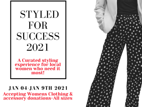 Styled for Success event info is live!