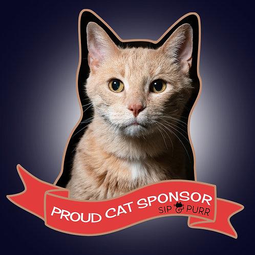Sponsor a Sip & Purr Cat