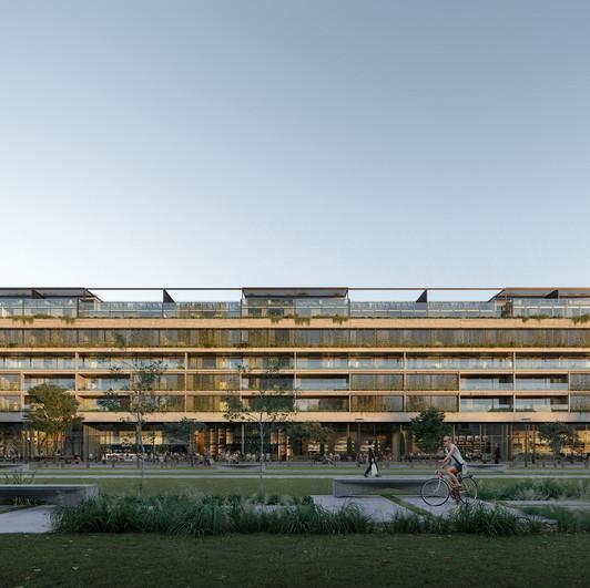 Architecture-facade-3d-rendering-contemp