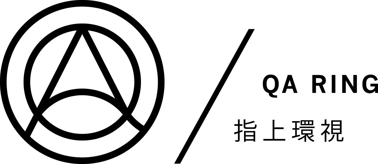 QA ring logo B_W-1