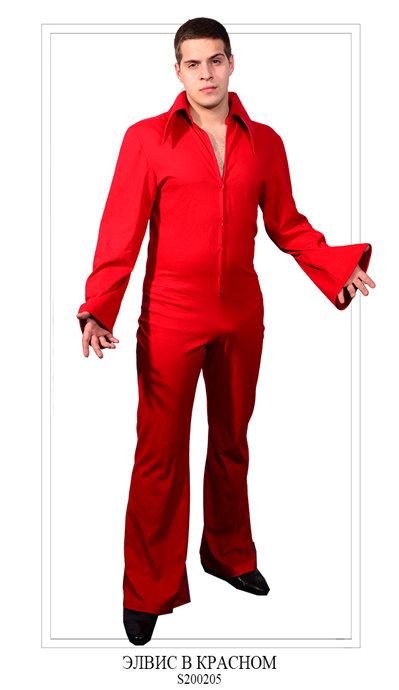 Элвис в красном