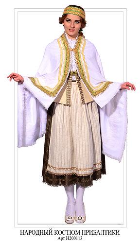 Народный костюм Прибалтика