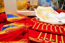 Создание коллекции гусарских костюмов