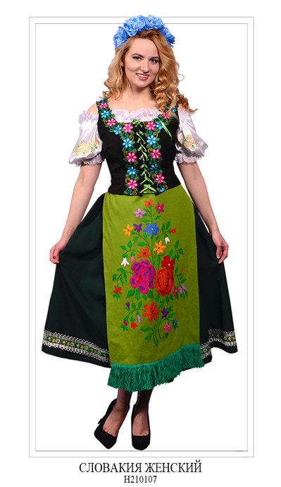 Женский костюм Словакия