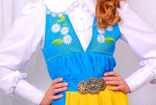 Шведский национальный костюм Sverigedrakt