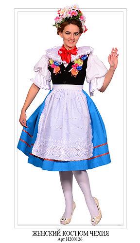 Женский костюм Чехия