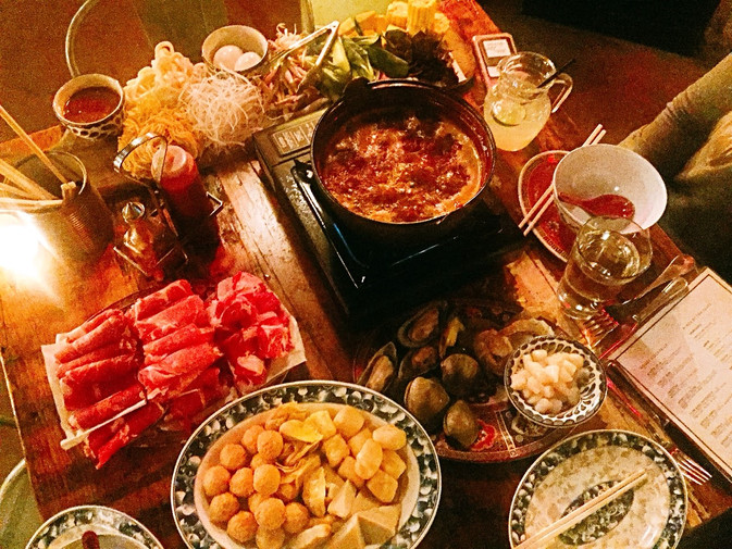 Talde Does Hot Pot - Feasting in Jersey City