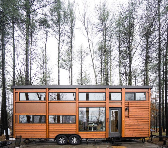 Catskills Glamping Weekend: Think Big! A Tiny House Resort