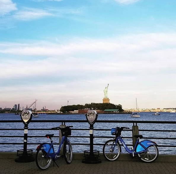 Pictured: Citi Bike JC by The Foundry Girl JC