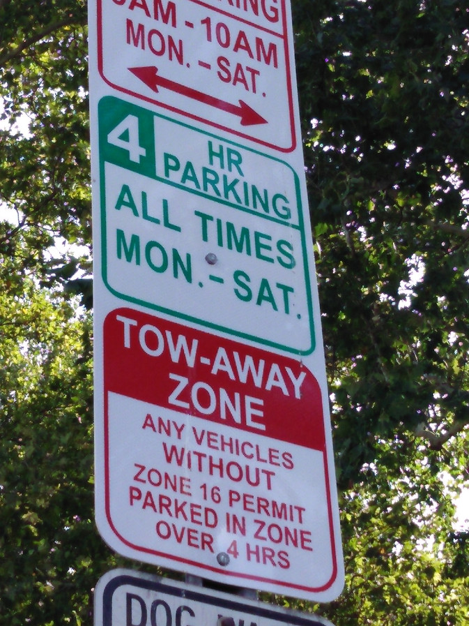 Jersey City Heights - New Parking Rules
