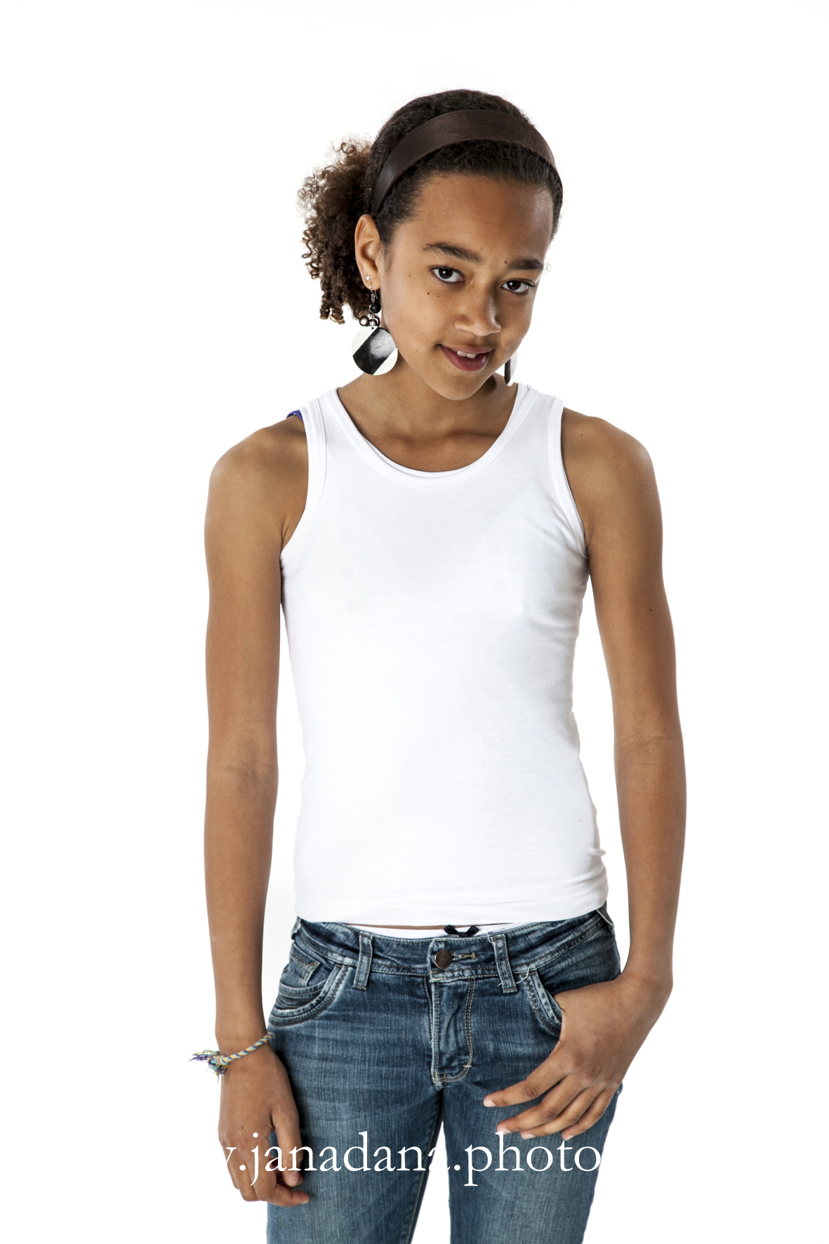 Kostuumvest Op Jeans.White Jeans Janadana Photography