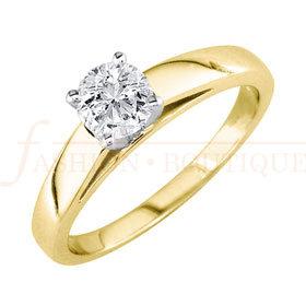 Solitario con Diamante de .35ct