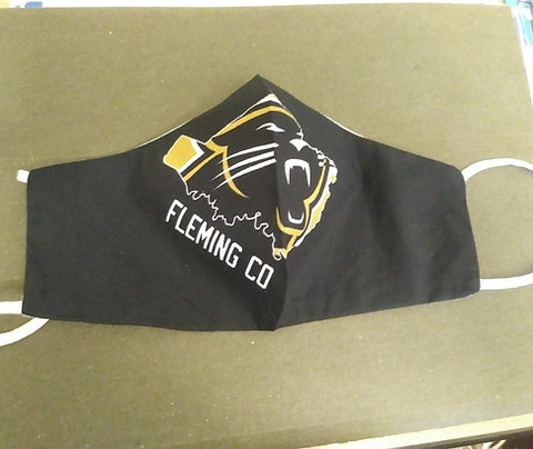 Fleming County Football Cotton Facemask