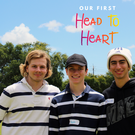 Our first ever Head to Heart