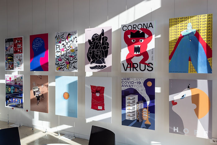 Corona Monster / Poster Exhibition