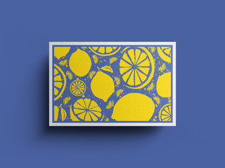 Fruit Postcards