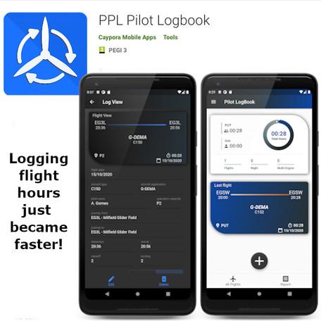 Free Pilot Logbook Android App