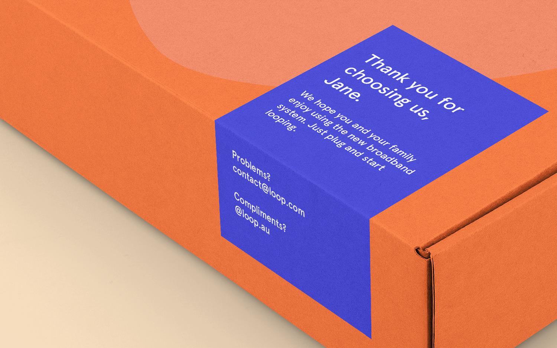 Loop Mailbox Label
