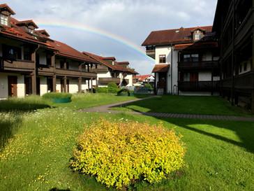 Chrysantihof Innenhof