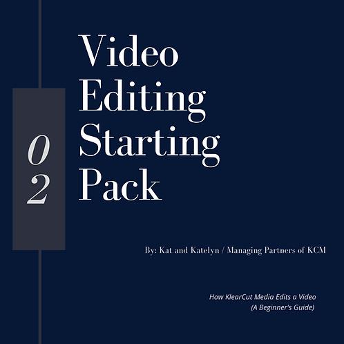 Video Editing Starter Pack