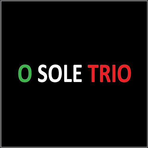O Sole Trio CD