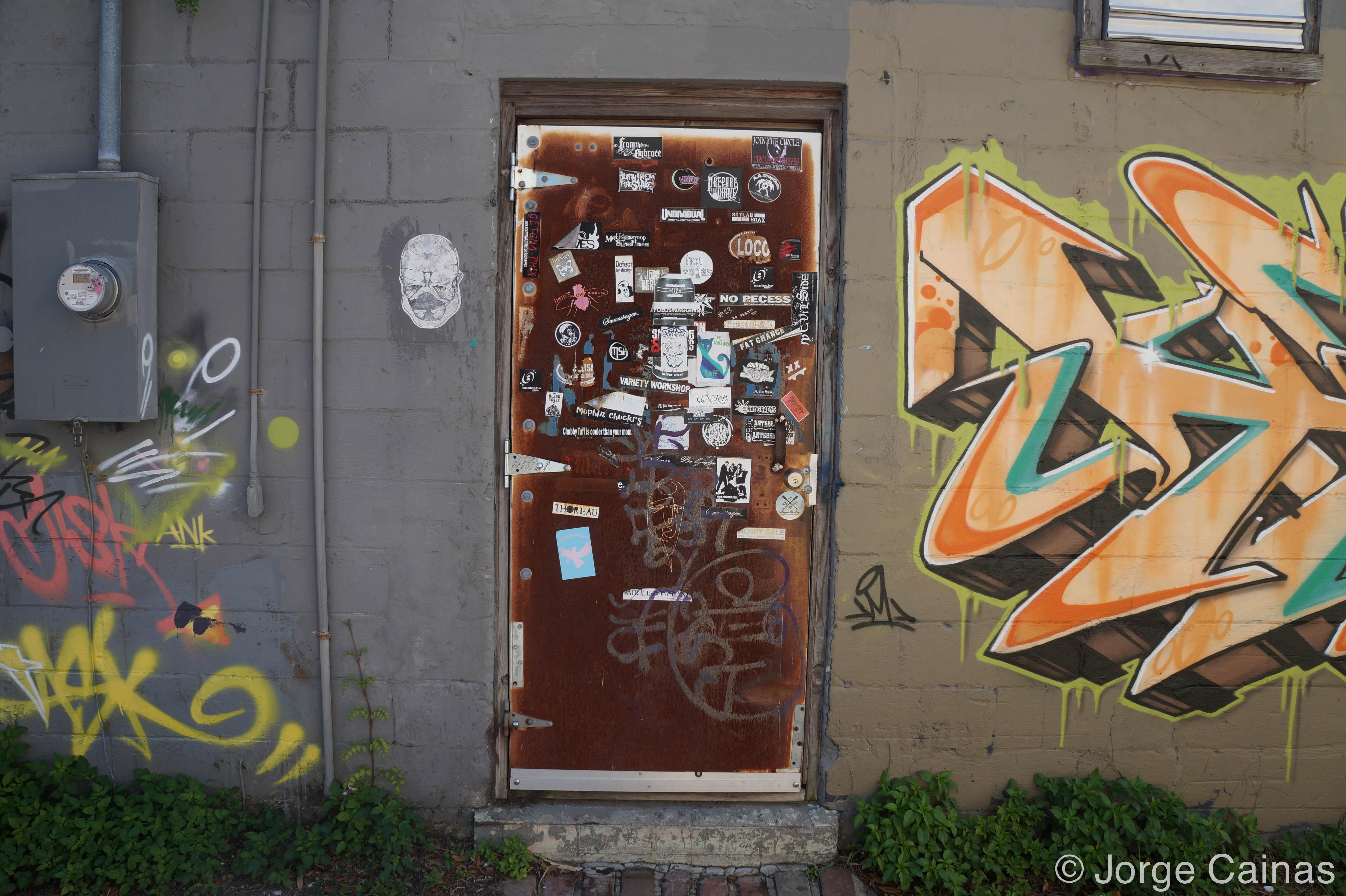 The Sticker Door No.2