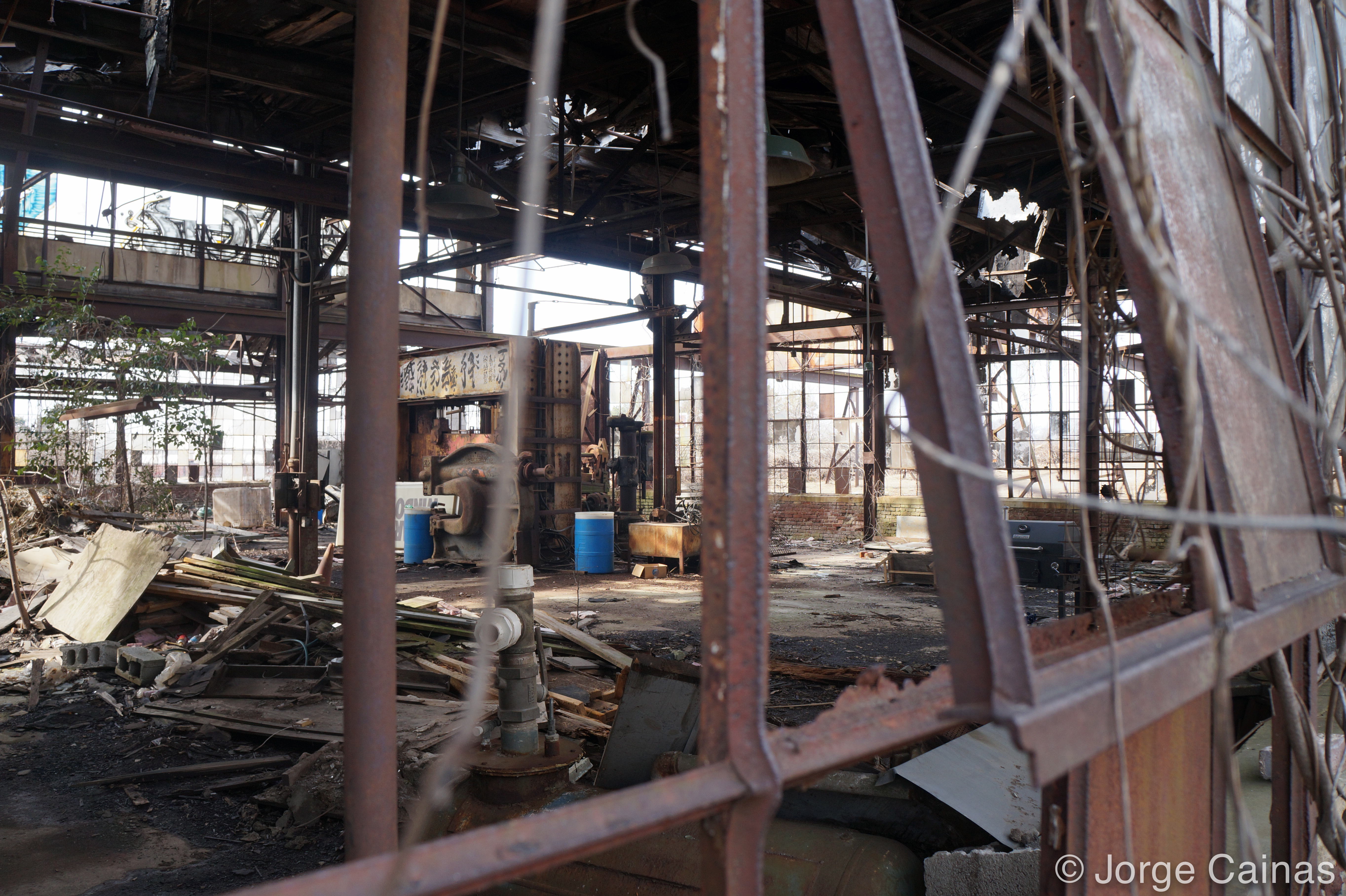 Abandoned Bullet Factory