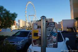 Sun Rising in Las Vegas