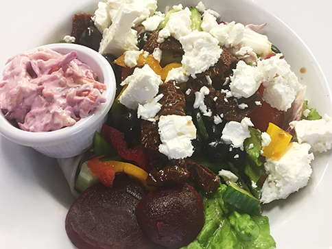 Feta Cheese And Beetroot